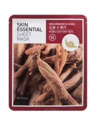 SKIN ESSENTIAL SHEET MASK GINSENG & SNAIL