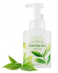 MICRO BUBBLE FOAM CLEANSER GREEN TEA SEED 250ml