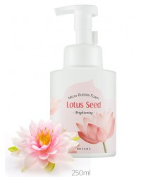 MICRO BUBBLE FOAM CLEANSER LOTUS SEED 250ml