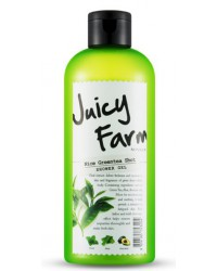 JUICY FARM SHOWER GEL (NICE GREEN TEA SHOT) 300ML