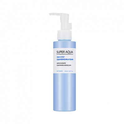 SUPER AQUA ONE STEP CLEANSING MILK FOAM