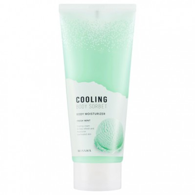 MISSHA COOLING BODY SORBET - FRESH MINT
