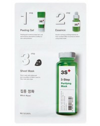 Missha 3 Steps Purifiying Mask