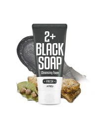 A'pieu Fresh Blacksoap 2 + Cleansing Foam