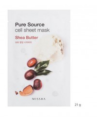 MISSHA PURE SOURCE CELL SHEET MASK (SHEA BUTTER)