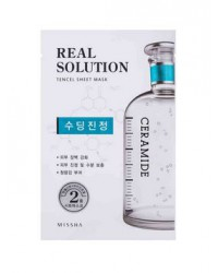 MISSHA REAL SOLUTION TENCEL SHEETMASK (SOOTHING) CERAMIDE