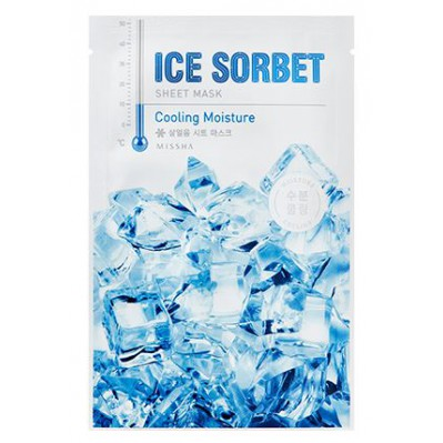 Ice Sorbet Sheet Mask Cooling Moisture