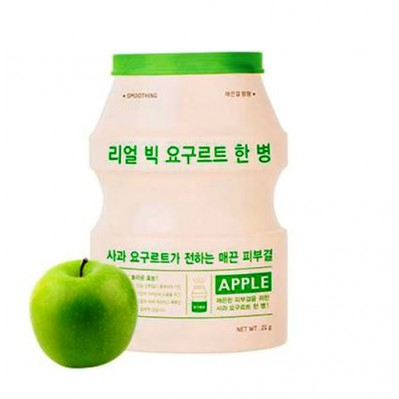 Real Big Yogurt One Bottle Apple