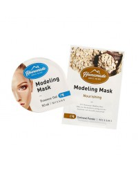 Homemade Modeling Mask Oatmeal