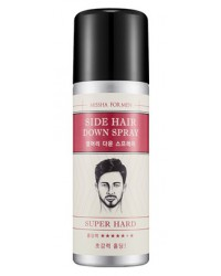 FOR MEN SIDE HAIR DOWN SPRAY