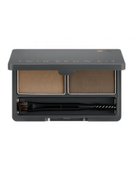 TWIN BROW KIT (NO.2 GRAY BROWN)