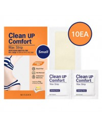 Clean Up Comfort Wax Strip