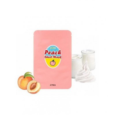 A'PIEU YOGURT AND PEACH SHEET MASK