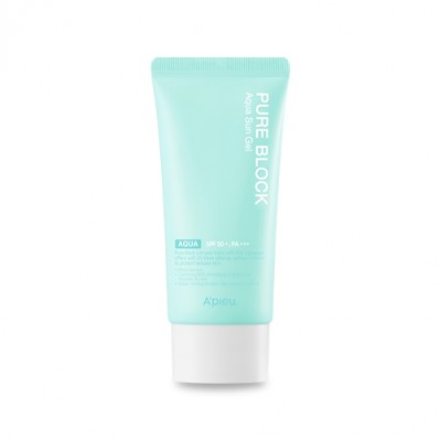 PURE BLOCK AQUA SUN GEL SPF50+/PA+++