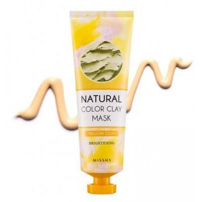 MISSHA NATURAL COLOR CLAY MASK BRIGHTENING 127G