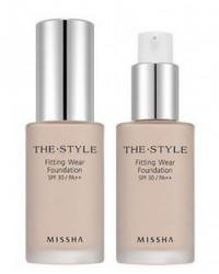MISSHA THE STYLE FITTING WEAR FOUNDATION