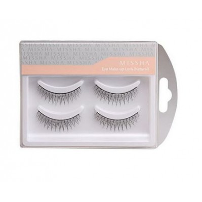 MISSHA EYE MAKEUP LASH NATURAL (Nº2/ SHORT & CLEAR)