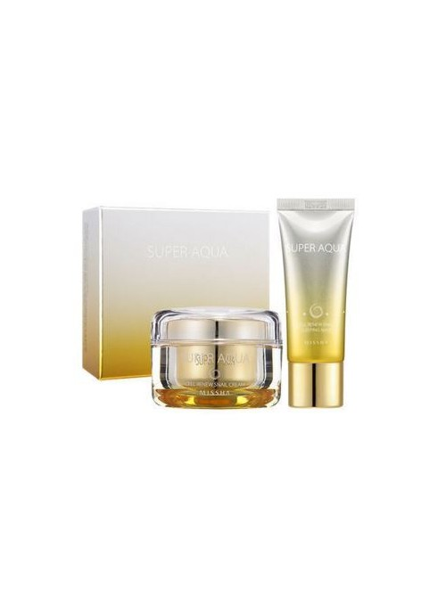 SUPER AQUA CELL RENEW SNAIL CREAM SET