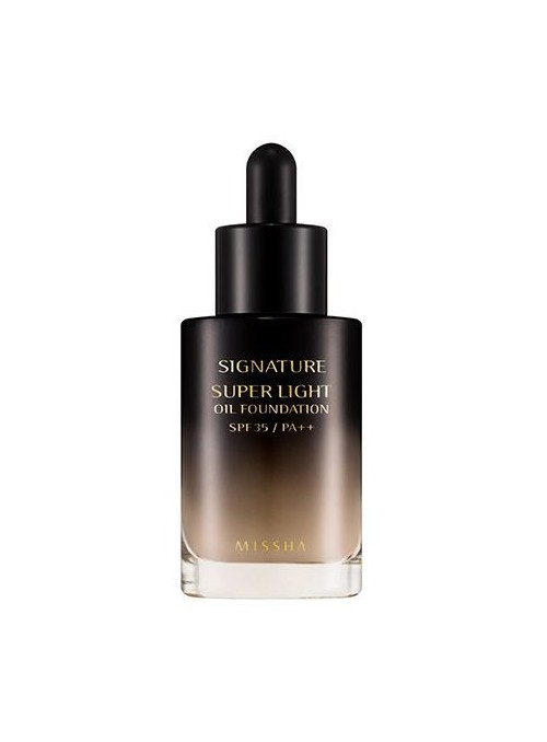 SIGNATURE SUPER LIGHT OIL FOUNDATION SPF 35/ PA++ 30ml