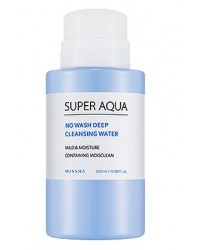 NO WASH DEEP CLEANSING WATER