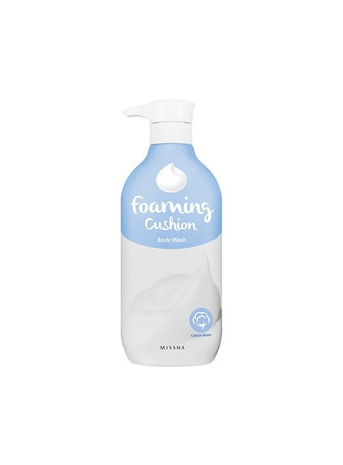 Foaming Cushion Body Wash Cotton White