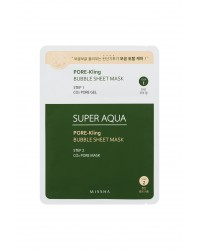 Missha Super Aqua Pore-Kling Bubble Sheet Mask