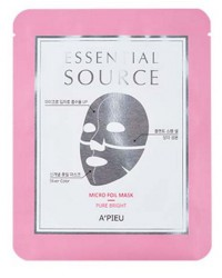 A'PIEU ESSENTIAL MICRO FOIL MASK - PURE BRIGHT