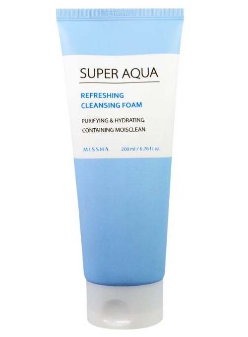 REFRESHING CLEANSING FOAM PURIFYING & HYDRATING