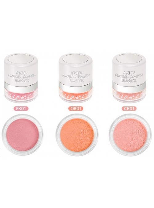 A'pieu Floral Powder Blusher.