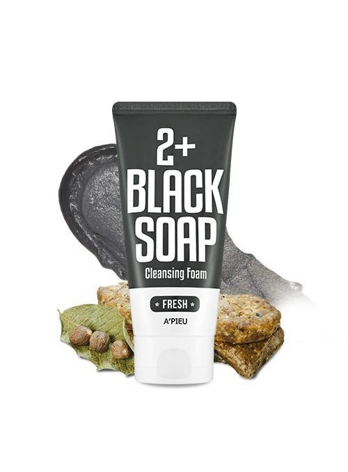 FRESH BLACK SOAP 2+ CLEANSING FOAM