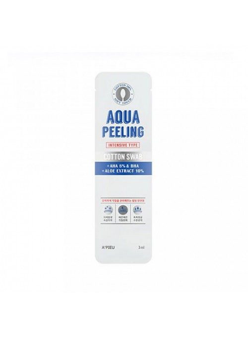 AQUA PEELING COTTON SWAB - INTENSIVE
