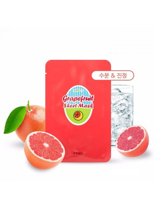 GRAPEFRUIT & SPARKLING SHEET MASK