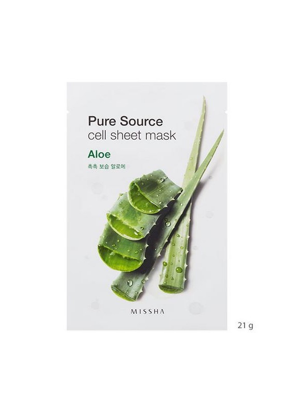 MISSHA PURE SOURCE CELL SHEET MASK – ALOE