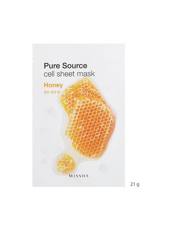 MISSHA PURE SOURCE CELL SHEET MASK (HONEY)