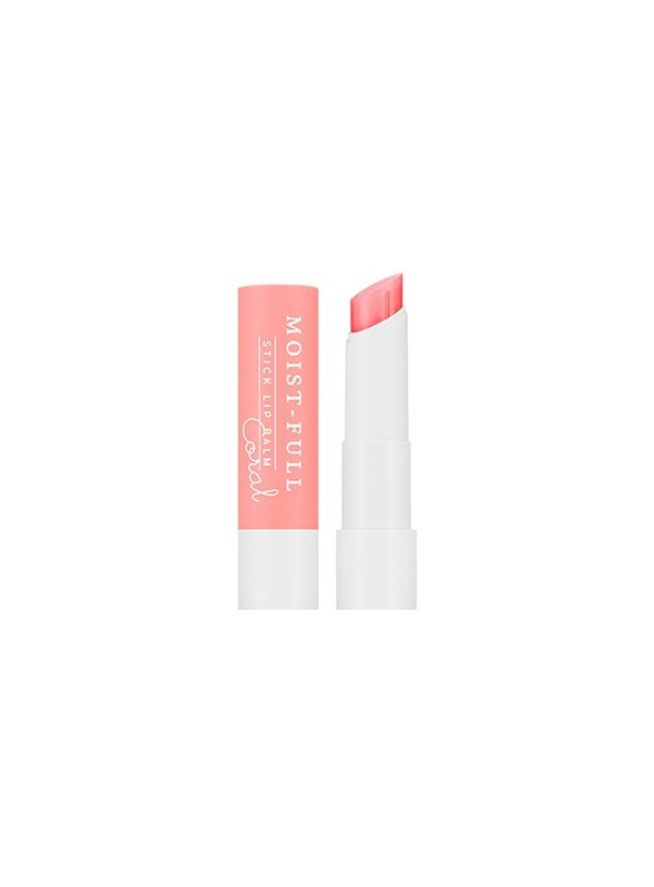 Moist-Full Stick Lip Balm (Coral)