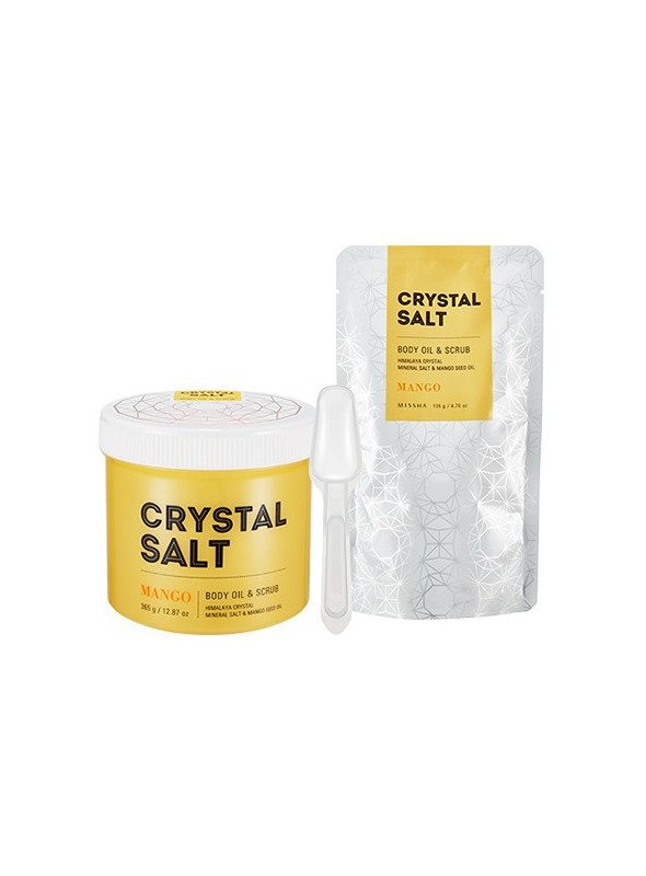 Crystal Salt Body Oil Scrub (Mango)