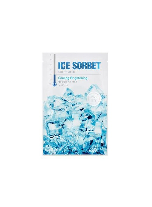 Ice Sorbet Sheet Mask Cooling Brightening
