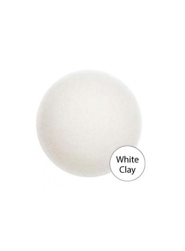 SOFT JELLY CLEANSING PUFF (WHITE CLAY)