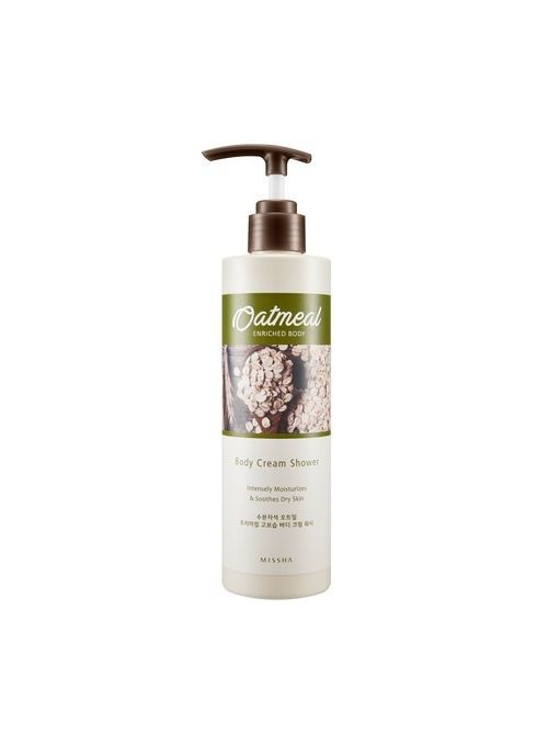 Oat Meal Enriched Body Cream Wash 290ml