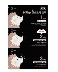 For Men 3-step Hedgehog Nose Pack