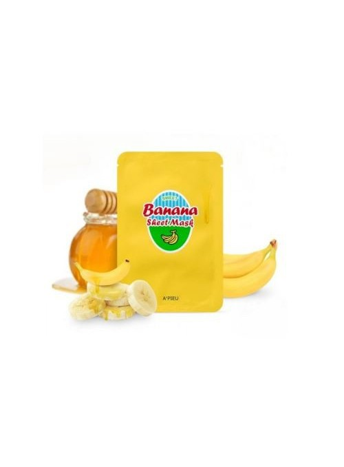 BANANA AND HONEY SHEET MASK
