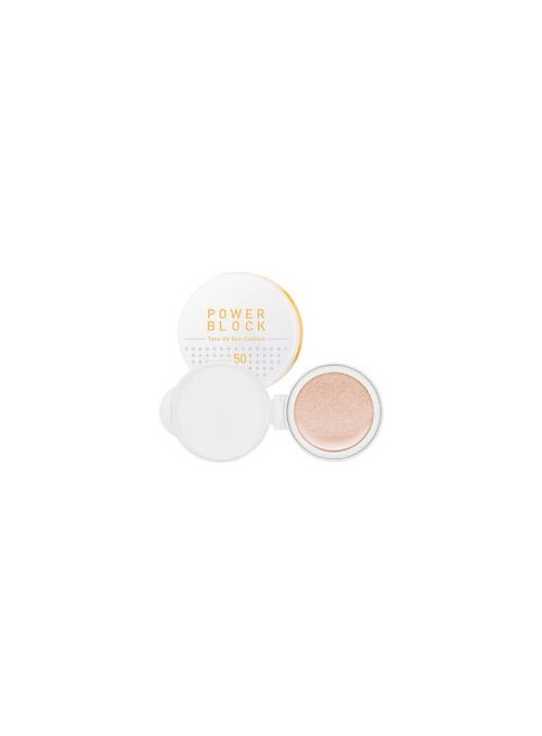 POWER BLOCK TONE UP SUN CUSHION SPF50+/PA++++ (REPLACEMENT)