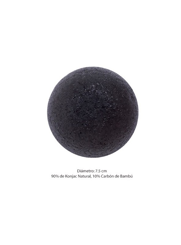 SOFT JELLY CLEANSING PUFF (BAMBOO CHARCOAL)