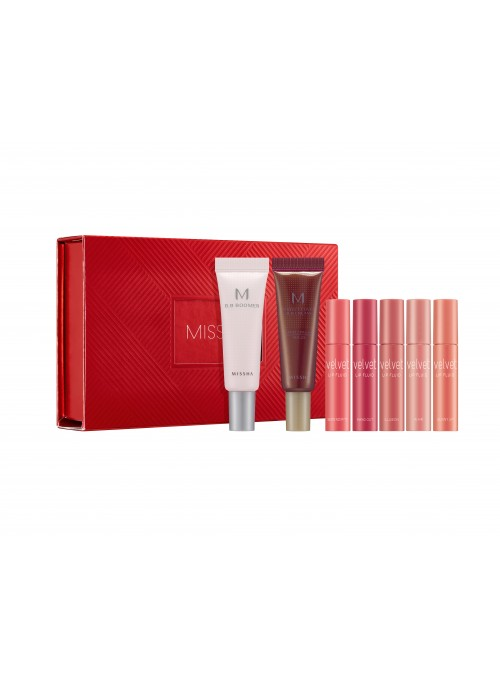 MISSHA DISCOVERY Velvet Lip fluid Mini Set