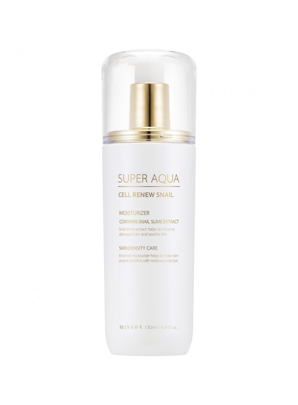 MISSHA SUPER AQUA CELL RENEW SNAIL ESSENTIAL MOISTURIZER 130ML