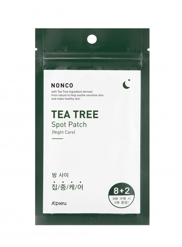 NONCO TEA TREE SPOT PATCH SET (NIGHT CARE)