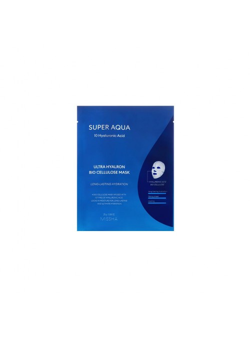 SUPER AQUA ULTRA HYALRON BIO CELLULOSE MASK