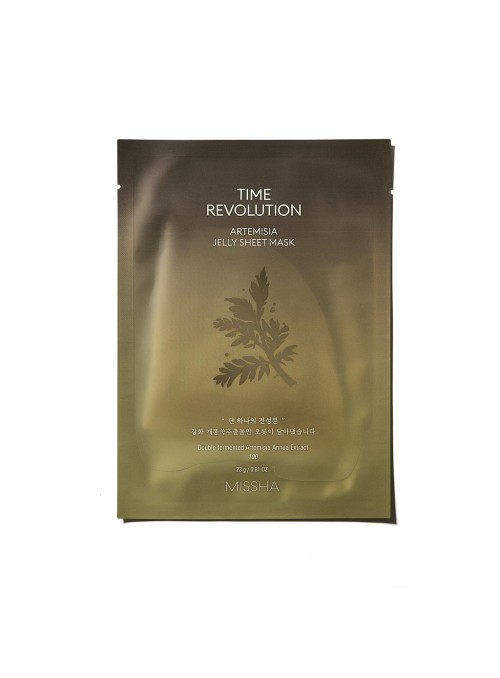 TIME REVOLUTION ARTEMISIA JELLY SHEET MASK