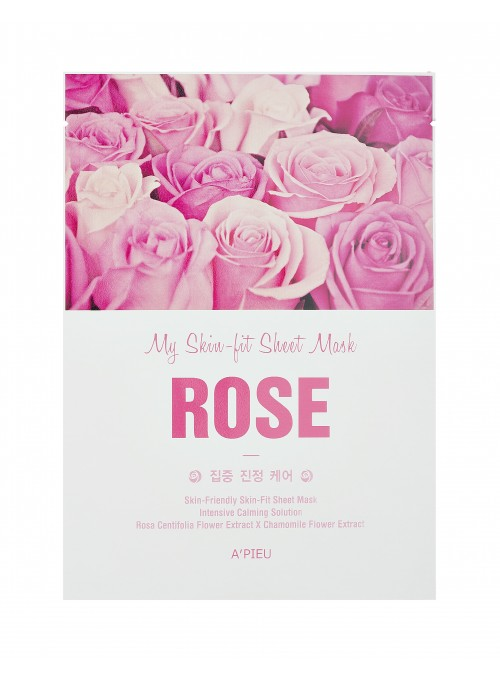 SKIN FIT SHEET MASK - ROSE