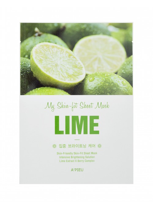 SKIN FIT SHEET MASK - LIME